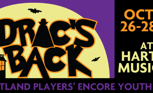 Open Auditions for Encore Youth Theater production Drac's Back - The